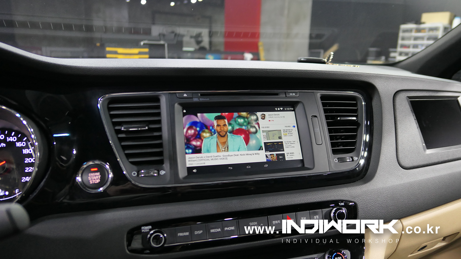 M2C-100IW Android system for 2017 KIA Carnival   INDIWORK